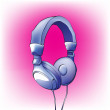 Headphones - Image vectorielle