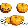 Royalty-Free Stock Vector Image: Pumpkins