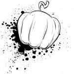 Vector pumpkin — Stock Vector