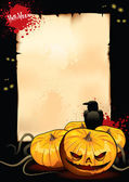 Plakat für halloween-party — Stockvektor