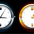 Realistic watch — Stock Vector #1469492