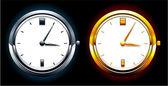 Realistic watch — Stock Vector