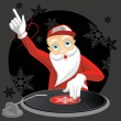 DJ Santa — Stock Vector #1138340