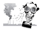 Gas mask — Stock Vector