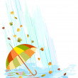 Royalty-Free Stock Vector Image: Umbrella