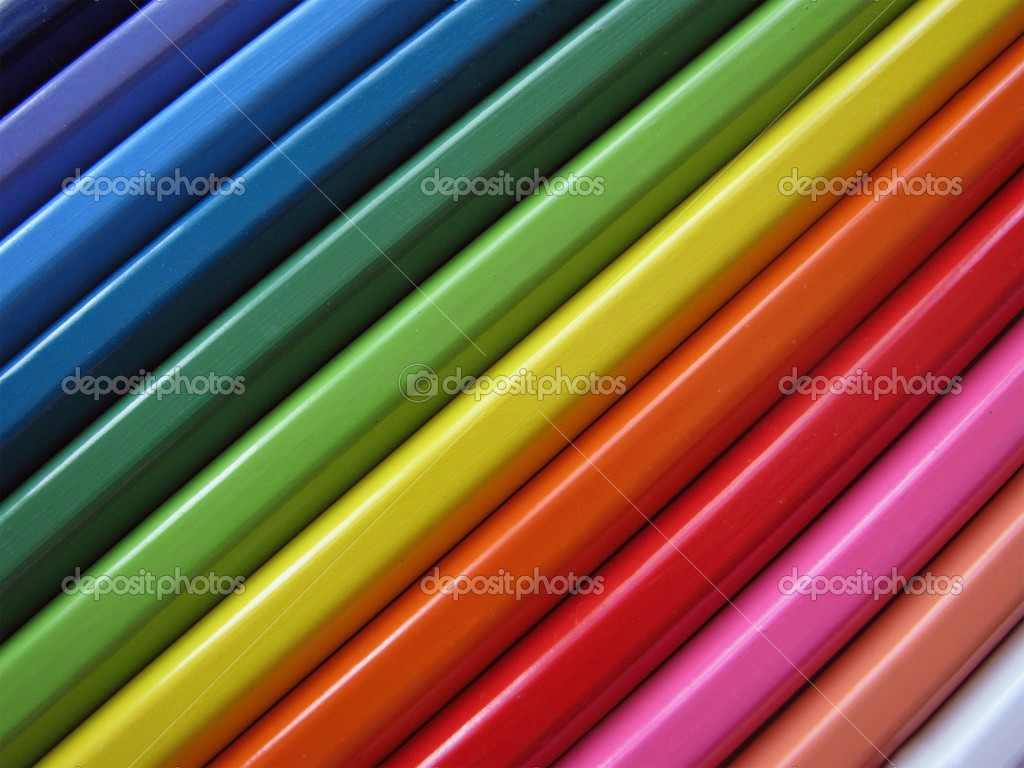 Background made of a set colour pencils — Stock Photo #1114854