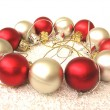 Stock Photo: Color christmas balls
