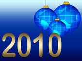 Yeni yıl arka plan — Stok fotoğraf