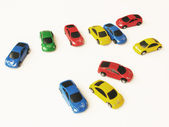 Color cars — Stock Photo