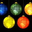 Christmas globes — Stock Photo #1210015