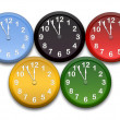 Stock Photo: Olympic clocks