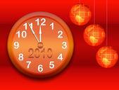 New Year's background — Stock Photo