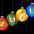 New year`s background — Stock Photo