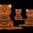 Three tigers — Stock Photo #1389844