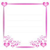 Valentines frame — Stock Photo