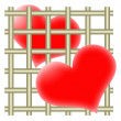 Hearts and bars — Stock Photo #1976788