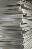 Pile of old thick magazines. — Stock Photo