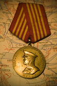 """Zhukov's"" medal — Stock Photo"