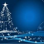 Navidad y año nuevo — Vector de stock
