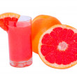 Stock Photo: Orange freshness grapefruit with juice