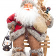 Santa Claus with gifts — Stock Photo #1150048