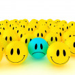 Happy faces group — Stock Photo