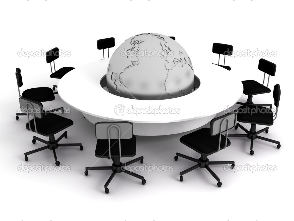 Business concept, Financial conference. 3d render — Stock Photo #1705572