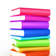 Stack of Books on white background — Stock Photo #1775265