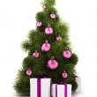 New_Year_tree_01 — Stockfoto