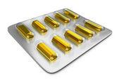 Tablets_bullion — Stock Photo