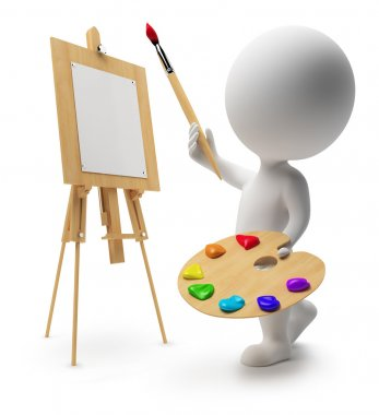 3d small - painter