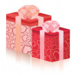 Royalty-Free Stock Vektorfiler: Gift boxes. Vector illustration
