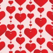 Royalty-Free Stock Vector Image: Valentine red background. Vector illustr