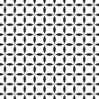 Black-and-white seamless pattern. Vector — Stok Vektör