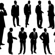 Royalty-Free Stock Vector Image: Collection of businessmen