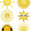 Collection of the sun — Stock Vector #1134574