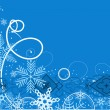 Winter background — Imagen vectorial