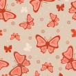 Abstract background with butterflies — Stock Vector #1135820