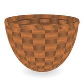 Basket. Vector illustration — Stock Vector