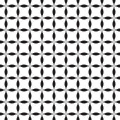 Black-and-white seamless pattern. Vector — Stock Vector