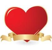 Valentine background. Vector illustratio — Stock Vector