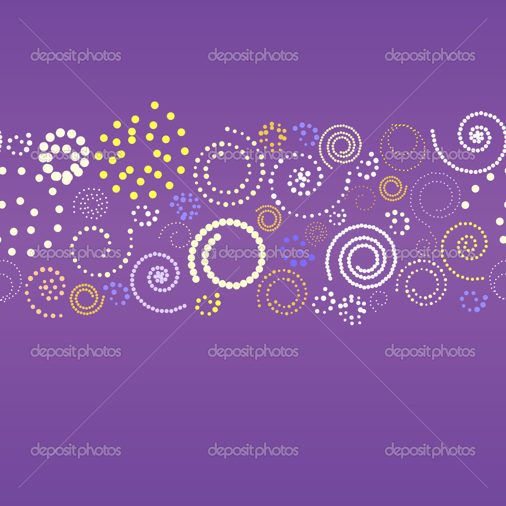 Abstract banner with spirals. Vector illustration — Stock Vector #1133482