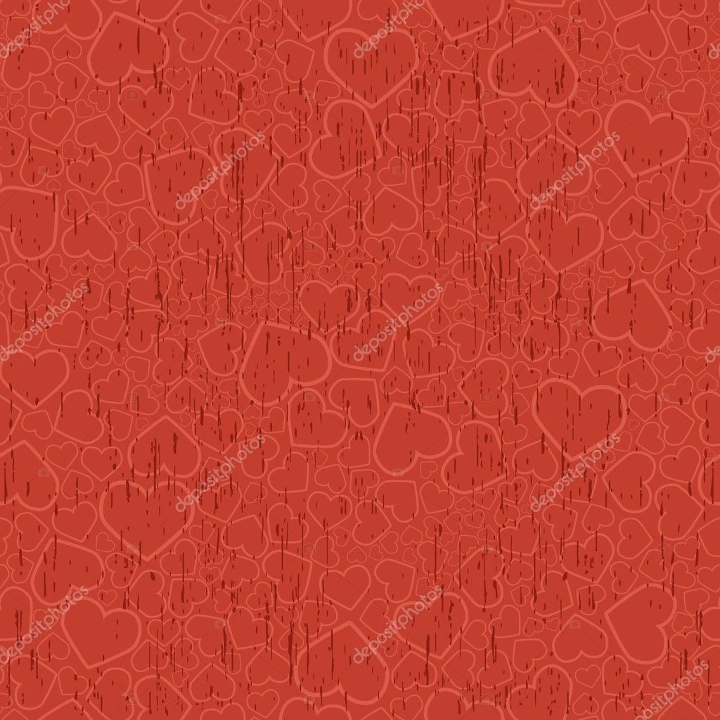 Valentine seamless background. Vector illustration — ベクター素材ストック #1139011