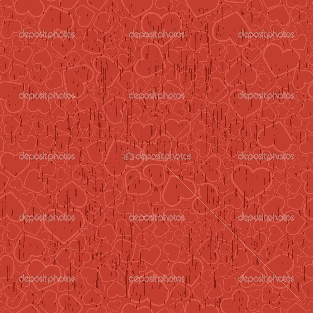 Valentine seamless background. Vector illustration — Vektorgrafik #1139011