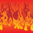 Royalty-Free Stock Imagen vectorial: Fire seamless. Vector illustration