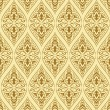 Brown seamless pattern — Stok Vektör