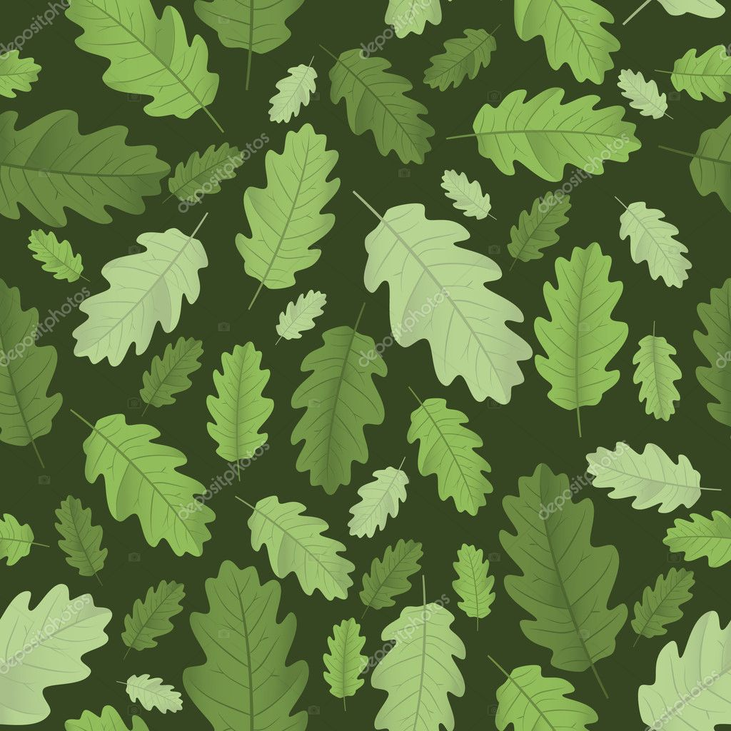 Background with leaves. Vector illustration — Stock Vector #1140038