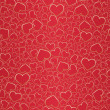 Stock Vector: Valentine seamless background
