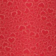 Valentine seamless background — Vector de stock