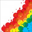 Royalty-Free Stock Vector Image: Framework from colour circles